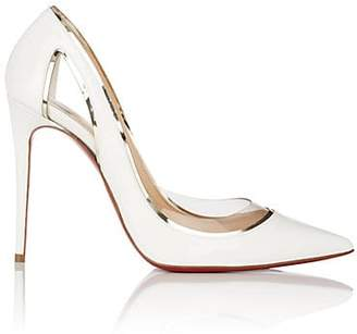 Christian Louboutin Women's Cosmo Patent Leather & PVC Pumps - Snow