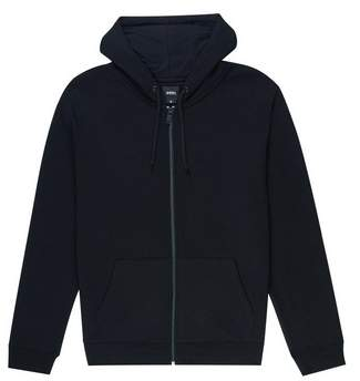 Burton Mens Black Zip-Through Hoodie