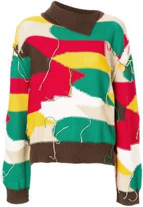 Marni patchwork sweater