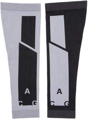 Nike White and Black NRG ACG Arm Sleeves