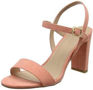 New Look Women's Wide Foot TIMMS Open Toe Heels,36 EU