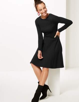 Marks and Spencer Long Sleeve Skater Dress