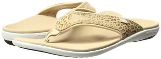 Spenco Cheetah Print Women's Sandals