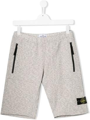 Stone Island Junior TEEN track shorts
