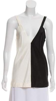 Haider Ackermann Silk Sleeveless Top