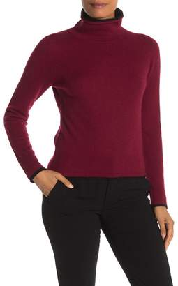 Magaschoni M BY Cashmere Turtleneck Pullover