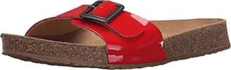 Haflinger Women's TR Gina RD Patent Flat Sandal