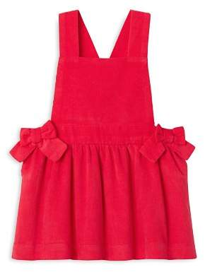 Jacadi Girls' Corduroy Pinafore Overalls Dress - Baby