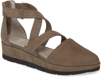 Eileen Fisher Bovery Strappy Platform Wedge