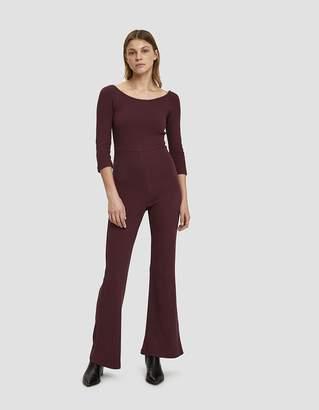 Candela Paloma Wool Crepe Jersey Jumpsuit