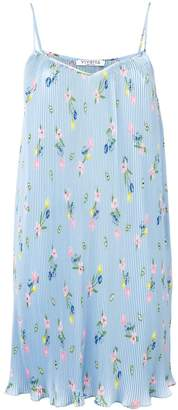 VIVETTA floral print pleated dress