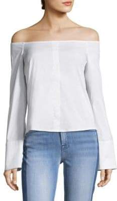 Caroline Constas Justine Off-the-Shoulder Blouse