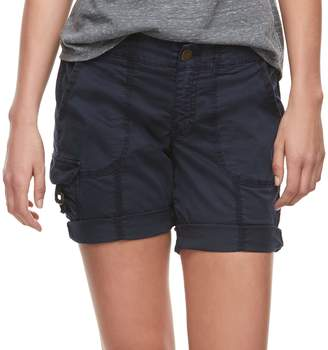 Sonoma Goods For Life Petite SONOMA Goods for Life Ribbed Waist Utility Bermuda Shorts