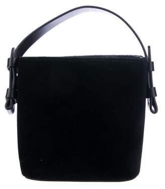 Nico Giani Adenia Mini Velvet Bucket Bag