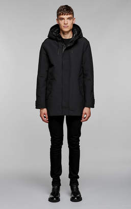 Mackage FARIS knee length coat with removable down liner