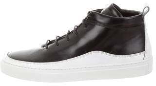 Public School Round-Toe High-Top Sneakers
