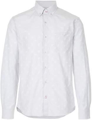 Loveless printed button down shirt