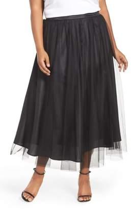 Alex Evenings Tulle Tea Length Skirt