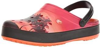 Crocs Unisex Crocband Tropics Clog Mule