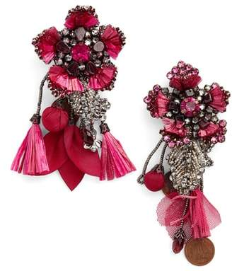 Ranjana Khan Peony Drop Earrings