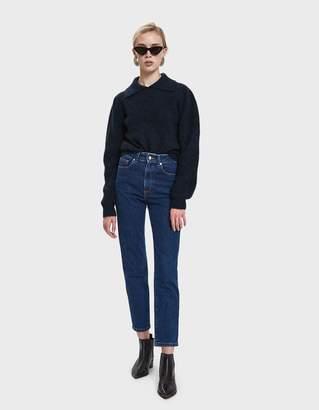 Ganni Callahan Collared Sweater