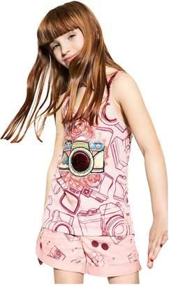 Desigual Girls' T-shirt Hamp, Sizes 5-14