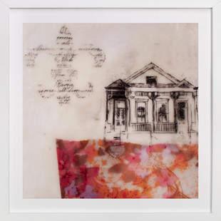 A Study of Home I Art Print