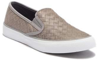 Sperry Seaside Embossed Weave Slip-On Sneaker