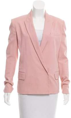 Reed Krakoff Structured Peak-Lapel Blazer