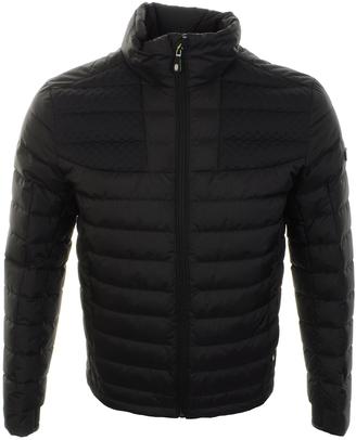 383b59348bf HUGO BOSS Green Jurado Jacket Black
