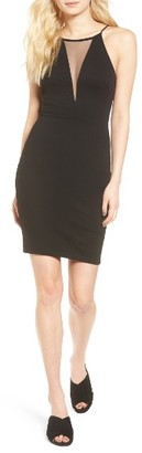 Women's Soprano Illsuion Body-Con Dress $49 thestylecure.com