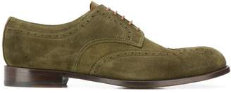 Doucal's perforated derby shoes