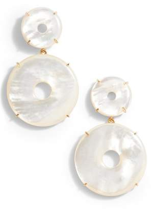 Asha Elizabeth Mother-of-Pearl Drop Earrings