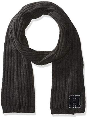Tommy Hilfiger Men's H Patch Scarf Accessory