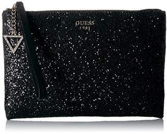 GUESS Ever After Glitter Crossbody Clutch