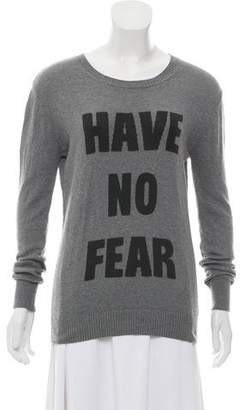 Haute Hippie Graphic Knit Sweater