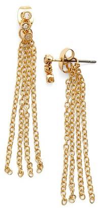 Women's Ettika Crystal Cluster Tassel Earrings $32 thestylecure.com