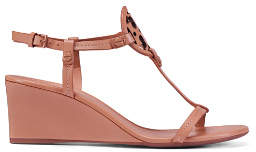 Tory Burch Miller Sandal Wedges, Leather