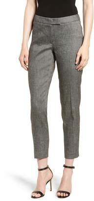Anne Klein Linen Blend Slim Suit Pants