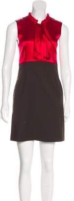 Alice + Olivia Two-Tone Sheath Dress