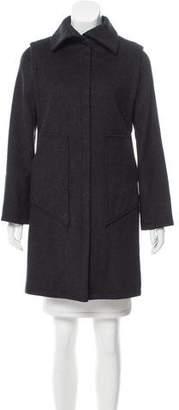 MM6 MAISON MARGIELA MM6 by Maison Martin Margiela Knee-Length Wool Coat