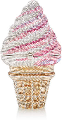 Judith Leiber Couture Ice Cream Cone Clutch