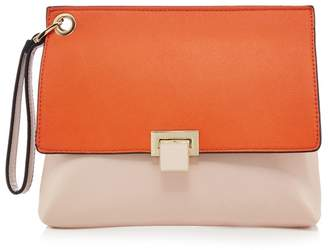 Faith Orange Clutch Bag