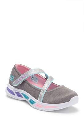 Skechers Litebeams Spin N' Sparkle Light Up Mary Jane Flats (Little Kid & Big Kid)