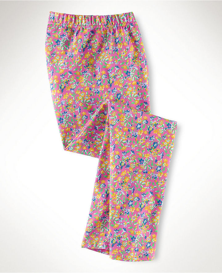 Ralph Lauren Pants, Girls Floral Leggings