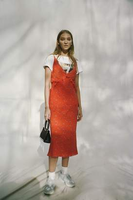 Urban Outfitters Heidi Ruffle Maxi Dress