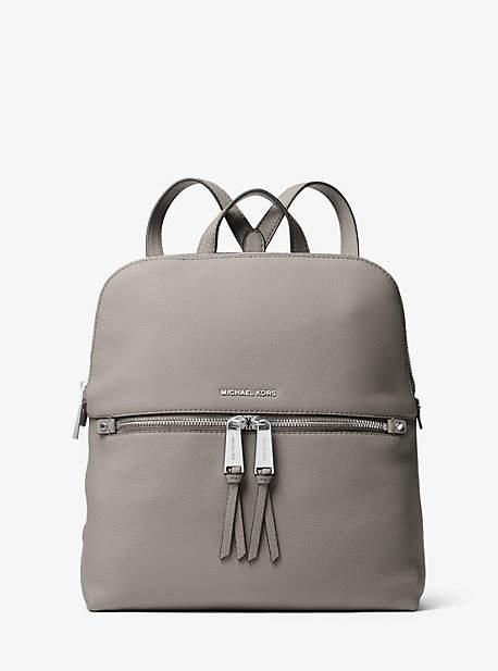 236194f81af254 ... low price michael kors rhea medium slim leather backpack shopstyle  8c895 9cac8 ...