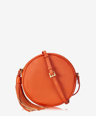 GiGi New York Zoey Crossbody, Azalea Pink Pebble Grain Leather