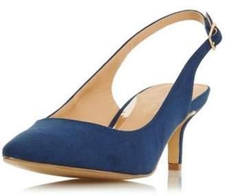 Dorothy Perkins Womens *Head Over Heels By Dune Navy 'Corrin' Mid Heel Shoes