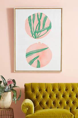 Artfully Walls Pink Circles Wall Art